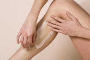 Leg Waxing at Home