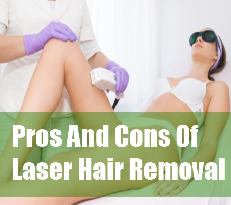 cons of laser hair removal
