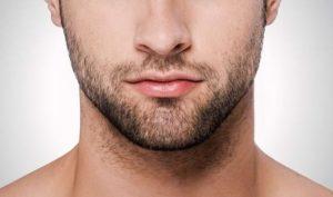 facial hair growth
